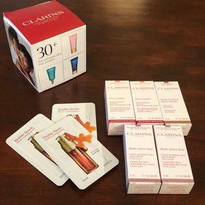 Clarins Multi-Active Day Cream & Serum Samples NIB